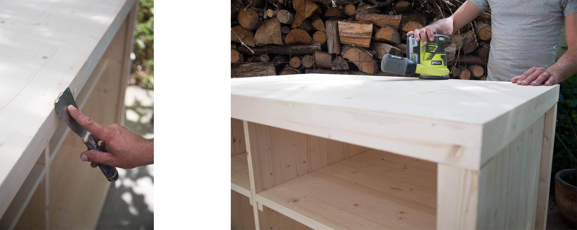 fabriquer un bar tutoriel de bricolage. Black Bedroom Furniture Sets. Home Design Ideas