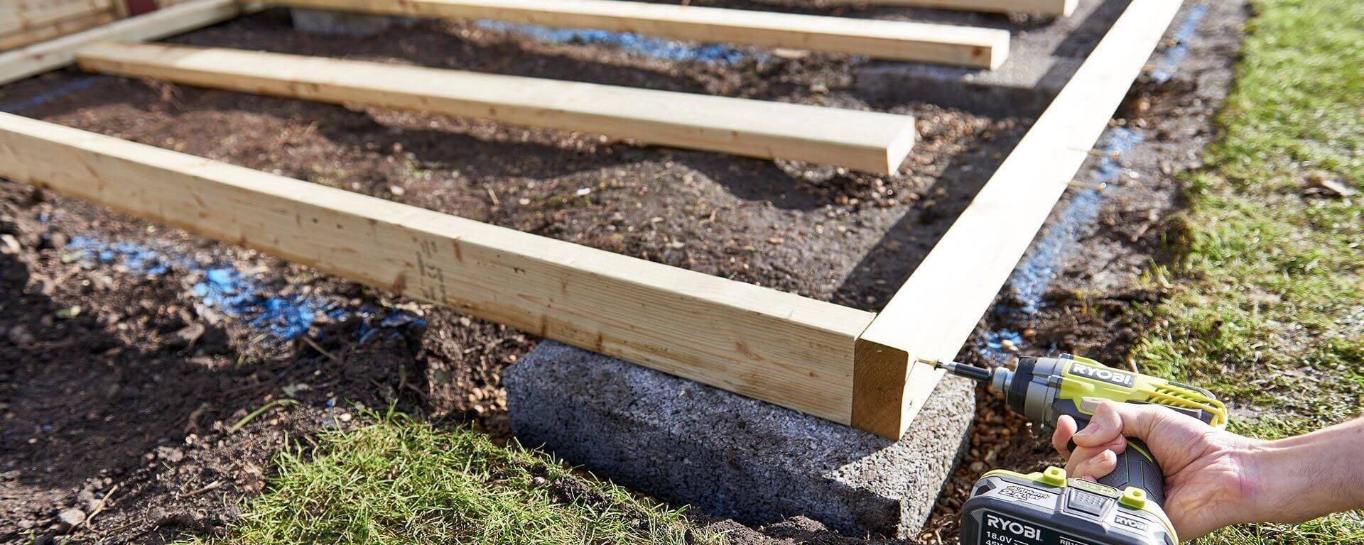 Construire Le Plancher De Votre Abri De Jardin